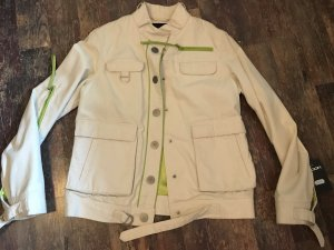 SPOON Denim Blazer natural white cotton