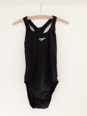 Speedo Zwempak zwart-wit Polyester