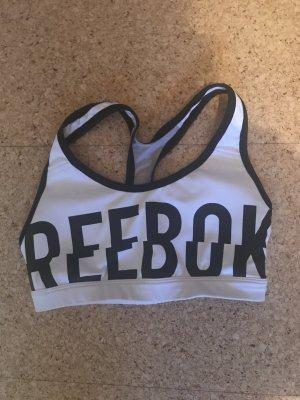 Reebok Reggiseno bianco-nero