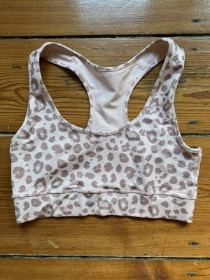 Sport-BH LEO BLUSH M Animal Print Rosé von Hey Honey Sporttop Yoga-Top