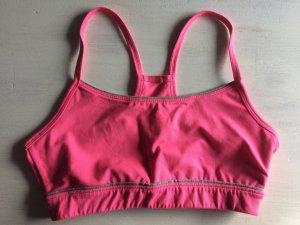 Sport-BH pink von Adidas Größe XS