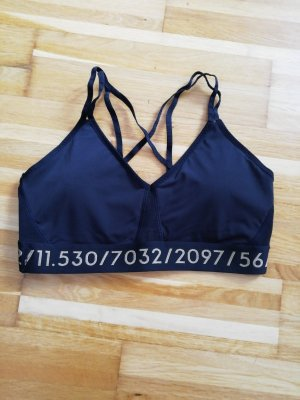 H&M Sports Tank black-gold-colored