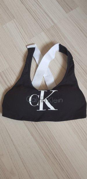 Calvin Klein Sporttop wit-zwart