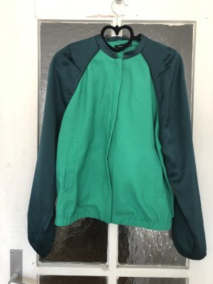 Reserved Blouson forest green-lime-green