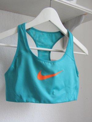 Nike Sporttop cadet blauw-neonoranje