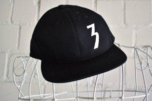 Baseball Cap black mixture fibre
