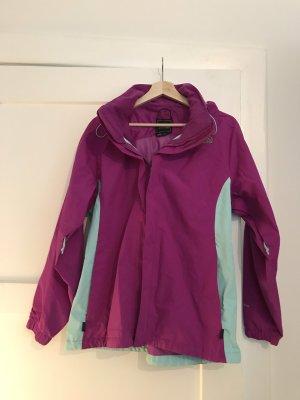 North Face Outdoor Jacket violet-light blue