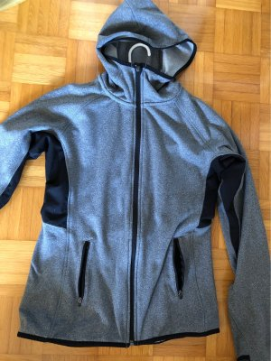 H&M Outdoor Jacket black-silver-colored