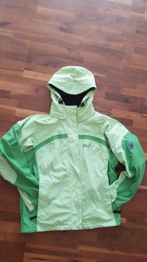 Jack Wolfskin Oversized Jacket pale green-lime-green