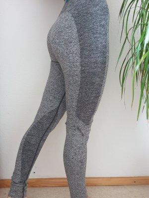 Leggings negro-turquesa Poliéster