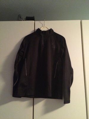 Sport-Longshirt/Longsleeve - schwarz Grösse 40/42