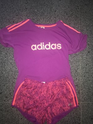 Adidas Twin Set tipo suéter purple