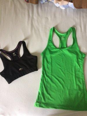 Sport  Set Oberteile BH  +  Shirt