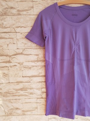 active Sports Shirt lilac-grey violet