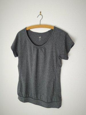 H&M T-shirt de sport multicolore polyester
