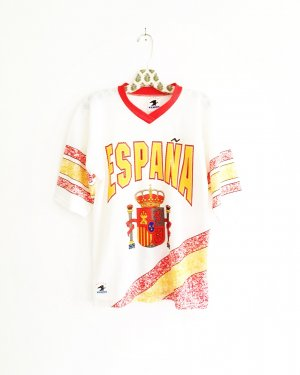 sport shirt / t-shirt / trikot / españa / vintage / training / casual