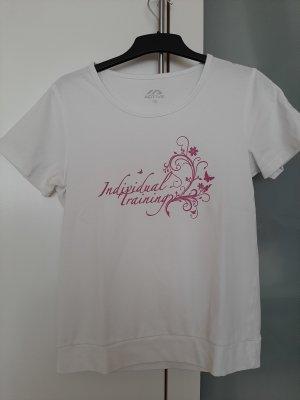 active Sports Shirt white-pink