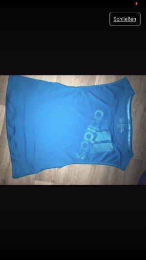 Adidas Originals Maglietta sport blu neon