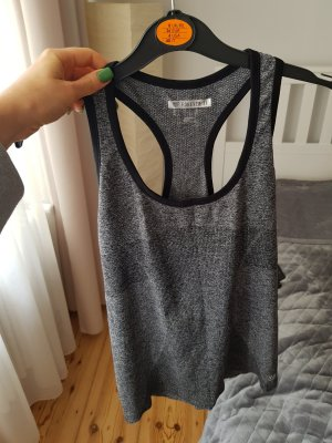 Forever 21 Sports Shirt black-grey