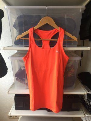 Sport Tanktop in nein orange von Puma