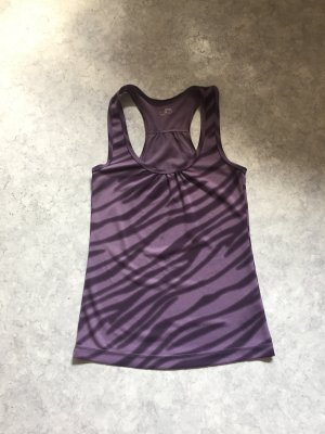 H&M Sporttop grijs-lila-mauve