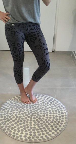 Sport tight gym Hose Yoga grau schwarz xs 34 Adidas