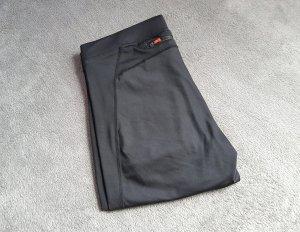 H&M pantalonera negro tejido mezclado