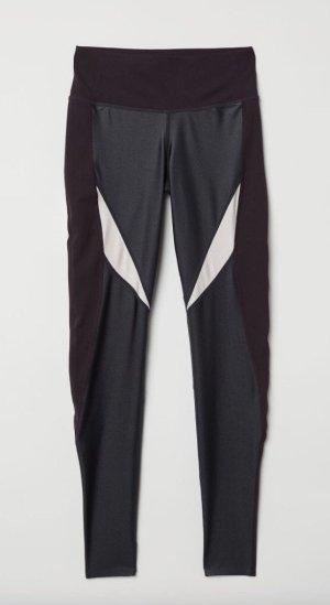 H&M Leggings nero-crema