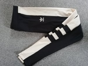 Adidas Pantalone da ginnastica nero-crema