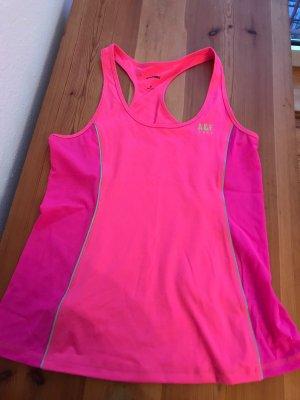 Abercrombie & Fitch Sporttop roze-neon groen