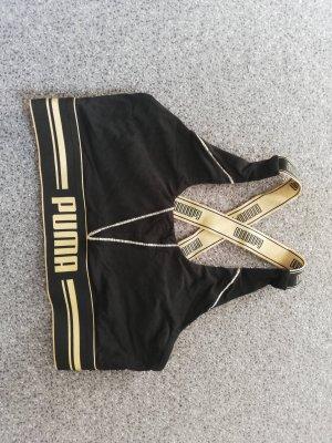 Puma Sporttop zwart-goud