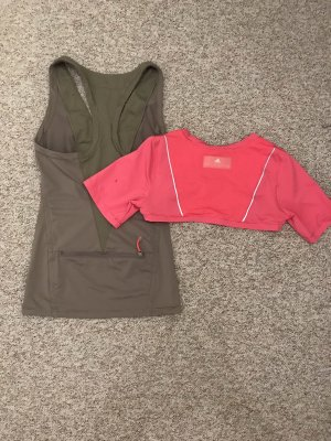 Adidas by Stella McCartney Sporttop roze-khaki