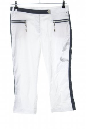 Sportalm 3/4 Length Trousers white-black casual look