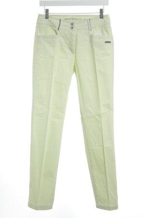 Sportalm 7/8-Hose blassgrün sportlicher Stil