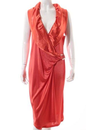 Sportalm Abendkleid neonorange extravaganter Stil