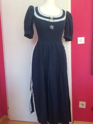 Sportalm blaues Kleid im Landhausstil