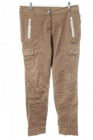 Sportalm Pantalone cargo marrone chiaro stile casual