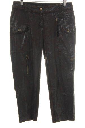Sportalm Pantalón de pana marrón-marrón oscuro look casual