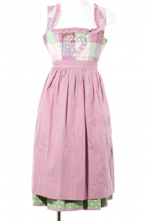 Sportalm Dirndl abstraktes Muster Country-Look