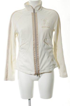 Sportalm Fleece Jackets natural white casual look