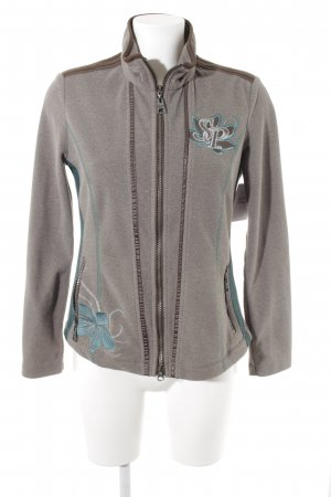 Sportalm Fleece Jackets flower pattern athletic style