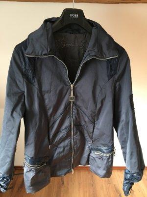 Sportalm Jacke blau Übergang Herbst glänzend 42 L XL