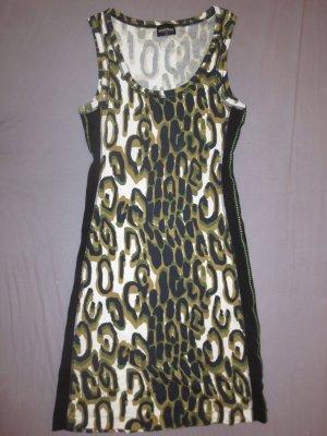 Sportalm Kitzbühel Damen elegantes Leopard Etuikleid, Sommerkleid, Partykleid Size: 36