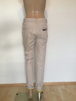 Sportalm Pantalone cinque tasche giallo lime-beige chiaro
