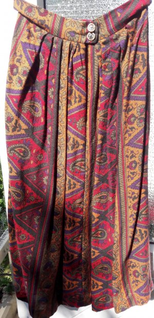 Sportalm Traditional Skirt multicolored mixture fibre