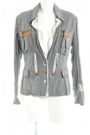 Sportalm Long-Blazer grau Casual-Look