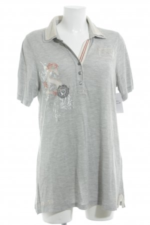 Sportalm Polo-Shirt Blumenmuster Casual-Look