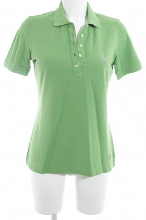 Sportalm Polo-Shirt grasgrün Casual-Look