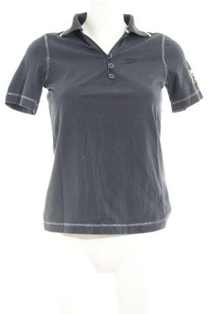 Sportalm Polo-Shirt mehrfarbig Logo-Applikation