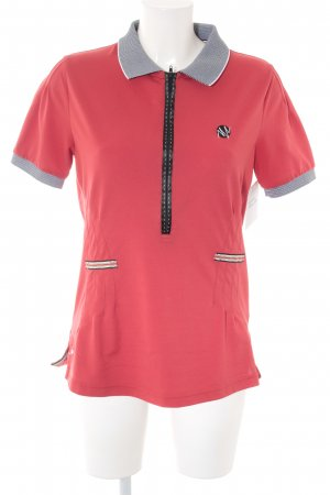 Sportalm Polo-Shirt Ringelmuster Casual-Look